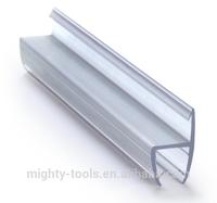 The waterproof shower door seal /plastic strips