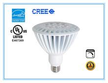 E26/E27 base 5 years warranty 25degree UL cUL 100-277V led Par38 bulbs