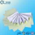 proveedor chino de la venta caliente de la computadora continua del recibo de la factura de papel de forma