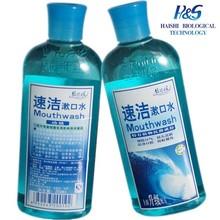 Antibacterial OEM Mouthwash Cool Mint Breath Freshner Antibacterial OEM Mouthwash
