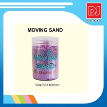 magic modeling sand in jars packing for children ,educational toys of play sand