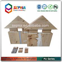 waterproof polyurethane/pu wood flooring adhesive sealant glue PU824
