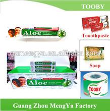 Pasta de dientes de Aloe envío química de la muestra fórmula pasta de dientes para sensible dientes