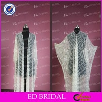 Rongsenzhiai Wedding Dresses Real Picture Beaded Shawl With Crystals
