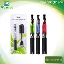 650mah / 900mah / 1100mah ce4 blister kit vaporizer pen