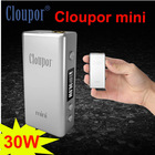 Factory price !!!2014 new vapor mod Cloupor mini 30watt zero mod come with big vapor