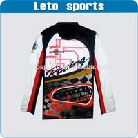 pullover BMX motor racing jerseys