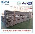 Iso/ASTM/jis/as/bs standard grauen 110mm pvc-rohr