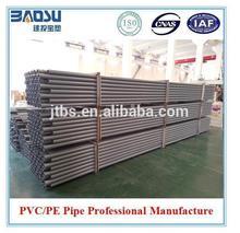 ISO/ASTM/JIS/AS/BS Standard Grey 110mm upvc pipe