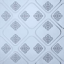 2014 new design pattern random size long strip white glass mosaic tile