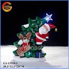 Nice christmas decorative santa claus arts and crafts