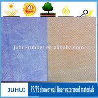 0.5mm Pp/pe Shower Wall Liner Waterproof Membrane /waterproof materials