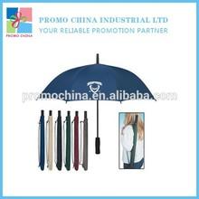High Quality Custom Outdoor Promotional Golf Umbrella With Portable Bag