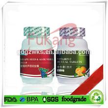 New Design PET Frosted Medicine Bottle,PET Capsule Bottle China Manufacturer,Fukang Factory PET Herbal Pill Bottle