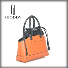 2015 hot selling famous brand leather knitting bag