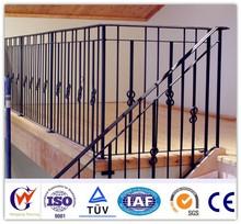 Prefab weather proof outdoor metal stair railing
