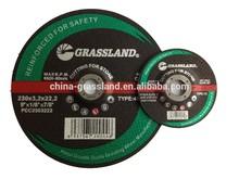 9'' resin grinding disc, polishing tool for grinding metal