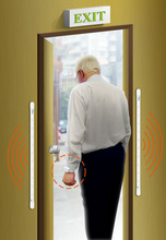 Security Alarm Systems Elderly Monitor Wireless Door Sensor