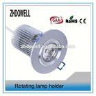 high lumen 110v ceiling led puck light