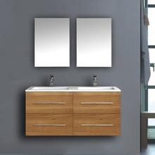 Smart Rustic Bathroom Design Modern Double Vanity