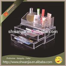 Custom make up box transparent packing and acrylic box