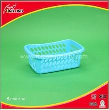 Factory price useful food grade plastic storage kitchen basket