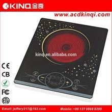 Ultra thin design electric ceramic cooktop