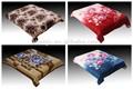 100% poliéster cobertor mora espanha coreano cobertor vison