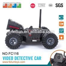 2015 brinquedos novos para crianças FC116 espião controle wi fi carro de brinquedo rc com câmera
