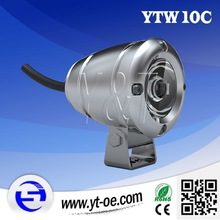 Y&T YTW10C Chrome /Sliver led working light, led driving light, led spot light for yamaha fz16
