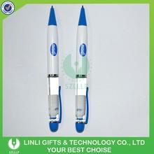 Customized Floater Design Plastic Liquid Pen, Plastic Oil Pen, Logo Aqua Pen