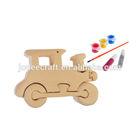 3D wooden craft puzzle locomotive
