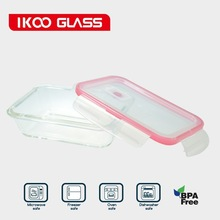 Borosilicate Glass Food Containers Rectangle