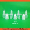 5 ml pequeña botella ldpe frasco cuentagotas de plástico nombres de gotas para los ojos