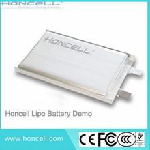 3.7V 1600mah Lipo battery 605048 lithium polymer batteries electric car