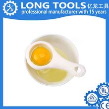 Wholesale hard boiled white plastic egg separator,egg dividers