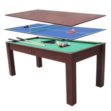 Morden style 3 in 1 multi game table dining pool table pingpong table