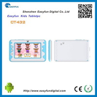 Design hot selling kids tablet nfc android