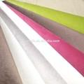 Sofá de la tela/tela de tapicería/100% de poliéster pequeño punto burnout tela de terciopelo