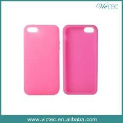 Colorful Soft Rubber Silicone Case For iPhone 5 5S