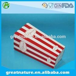 Printed greaseproof paper bucket for deli food