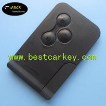 Topbest 3 button smart card key for renault megane renault smart card