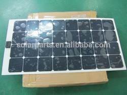 Marine flexible solar panel, portable solar panel
