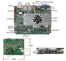 gateway motherboard Mni board support windows xp/win8 desktop motherboard with 6*com