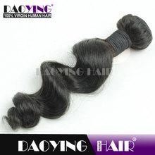 quality grade 7a 100% Virgin Indian Hair Weaving, african kanekalon hair braid