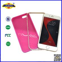 Honeycomb TPU & Aluminum bumper Combo Case For Iphone 6