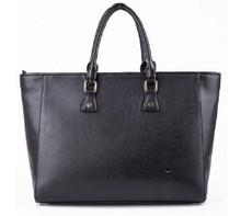 elegance black handbag fashion bags lady tote bag blank