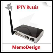 IPTV Russia hd box iptv Android 4.22 IPTV SET-TOP BOX IPTV V8 for russia/vietnam/arab