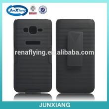 smart phone holder hybrid rubber case for samsung grand prime g530h