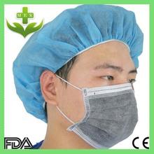 xiantao hubei Mek Disposable 4ply earloop active face mask carbon